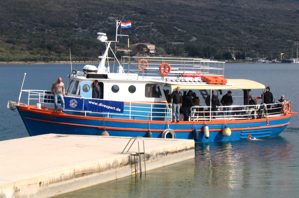 Tagestourboot Vojga | DIVE CENTER KRK